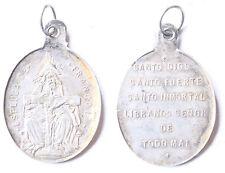 Siglo XIX. Medalla Espluga de Francoli. PLATA. Peso 2,51 gr. Tamaño 25 x 20 Mm.