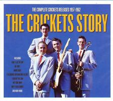 THE CRICKETS STORY - THE COMPLETE CRICKETS RELEASES 1957-1962 (NEW SEALED 2CD)