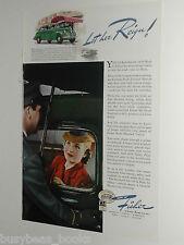 1940 Fisher Body ad, Pontiac, lady driver