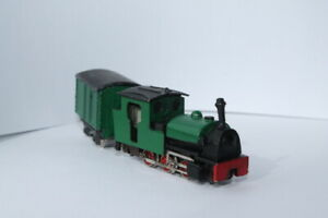 Nn3 English style Steam Locomotive with 3 handmade coal cars