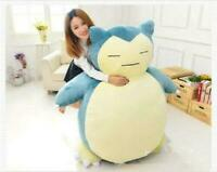 100CM Large Snorlax Kabigon Pokemon Go Plush Toy Soft Doll Kid' Gift(Only cover)