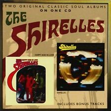 THE SHIRELLES Happy and In Love 2 LPs on 1 CD Soul Girl Group SHIRLEY Reeves