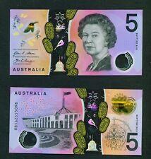 AUSTRALIA - 2016 $5 UNC Banknote
