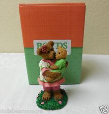 "NWT Boyds Bears Resin ""MOMMA SWEETLOVE WBEBE...HUGS TO REMEMBER"" Bear 4040524"