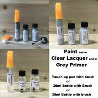 MERCURY SILVER D69 PAINT TOUCH UP REPAIR KIT SCRATCH CHIP BRUSH FOR RENAULT