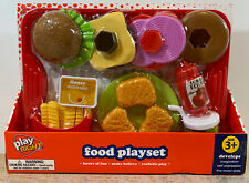 Play Right Kids Pretend Food Playset