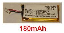 "Batterie BIOS 180mAh  Li-Polymer  Pour APPLE A1107 17"" PowerBook G4 820-1814-A"