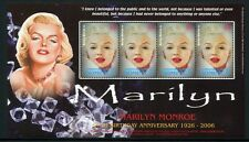Dominica 2006 Marilyn Monroe Musik Film Cinema Music 3731 Kleinogen ** MNH