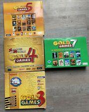 Gold Games 3 4 5 7 Giant Games Big Box OVP Karton Sammlung 69 Spiele PC