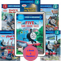 Step Into Reading 1-2 Thomas & Friends Five Tank Engine Tales 5in1 FREE ship $35