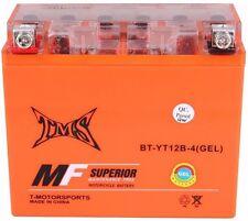 GEL UT12B-4 YT12B-BS Battery for Yamaha YZF R6 R1 ZX1000C ZX10R SRX600 FZ6 Tiger