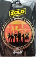 Disney DSF DSSH Solo Star Wars Story Group Pin LE400 Han Lando Chewie
