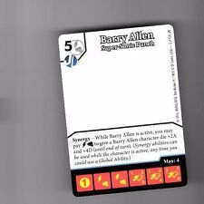 DICE MASTERS DC GREEN ARROW & FLASH PROMO CARD #2 BARRY ALLEN SUPER-SONIC PUNCH
