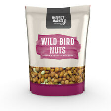 Wild Bird Feed Peanuts / Nuts. 1kg Bags (2.2lbs) Kingfisher