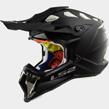 LS2 Helmet SUBVERTER SOLID MATTE BLACKOUT LG 470-1094 Off-Road MX Helmet