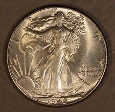 1942 Walking Liberty Half Dollar Nice * Free U.S. Shipping *