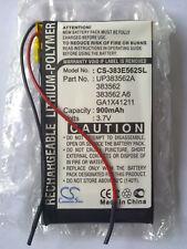 Cameron Sino Technology 900mAh 3.7V Palm-Tungsten CS-383E562SL