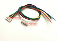 50SET 1.25mm 5-Pin Mini Male Connector Housing 15cm wire lead Right Angle Header