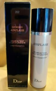 Dior Diorskin Airflash Spray Foundation 202 Cameo 70ml 2.3 oz