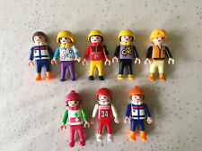 Playmobil personnages enfants sports lot 4