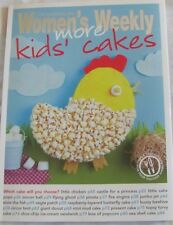 Womens Weekly More Kids Cakes with pattern sheet