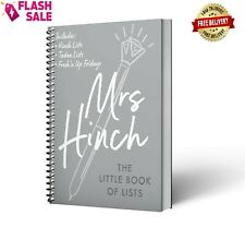 Mrs Hinch: The Little Book of Lists New Hardcover Book 2 Apr 2020