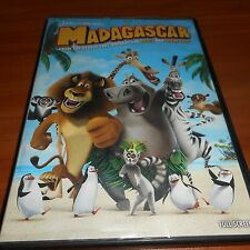 Madagascar (DVD, 2005, Full Frame) Ben Stiller, Chris Rock Used Dreamworks