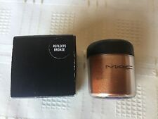 MAC Reflects Bronze Glitter Brilliants Pigments Eyeshadow 7.5g