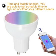 GU10 6W Wifi Smart Dimmable RGBW LED Light Bulb Home Smartphone App Control