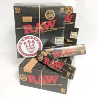 RAW Black King Size Slim Rolling Papers Multi Buy