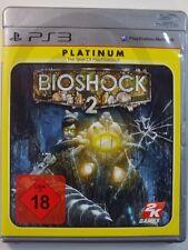 PLAYSTATION PS3 GIOCO Bioshock 2 USK18, usato ma BENE