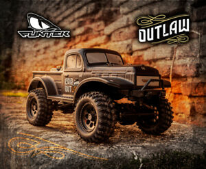 FUNTEK 1/12th Scale 4WD 2.4GHZ Ready to Run CR12 Outlaw Rock Crawler - RC Addict