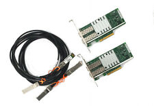 10G Netzwerk Kit 2x Intel X520-DA2 10 Gigabit NIC GBe SFP+ 2x3m SFP+ Kabel Cisco