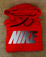 NWT Mens Nike Red Therma Dri-Fit Hoodie Long Sleeve Sweatshirt Size XXL - 2XL