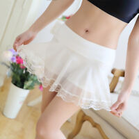 Lady Lace Underwear Briefs Knicker Mesh Panties Shorts Safty Underpants Culotte