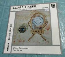 """CLARA HASKIL (10"""") MOZART PIANO CONCERTO, A MAJOR *KV 488 ♫♫ [PHILIPS **GERMANY]"""