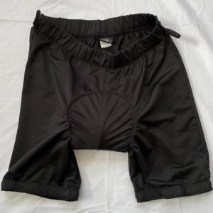 Canari Men's Compression Padded Shorts Liner Bike Cycling Shorts, Black, Medium
