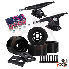 Cal 7 Longboard Flywheel 180mm Truck Bearing 83mm Black Skateboard Wheels