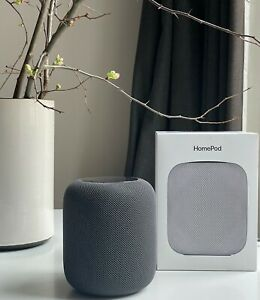 Apple HomePod Voice Enabled Smart Assistant - Black A1639