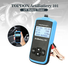 12V Automotive Car Battery Tester Analyzer Cranking Charging Test Battery Check