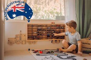 Toy Car Storage Truck - hot wheels matchbox disney cars boy room decor wall