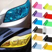 Car Headlight Taillight Fog Light Sticker Tint Protector Wrap Film Vinyl 30 X1E8