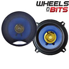 "NEW J-Audio AC-5001 5.25"" 13cm Dual Cone Car Speaker 120 Watt Each 240 Watts Set"