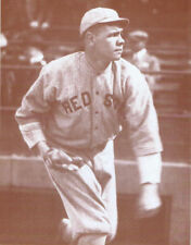 """Babe Ruth Poster Print - Pitching for the Boston Red Sox - 11""""x14"""""""