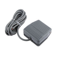 Footswitch Foot Momentary Control Switch Electric Power Pedal SPDT Grey