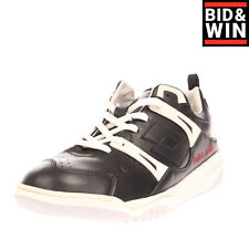 Rrp €150 Damir Doma x Lotto Leather Sneakers Eu 42 Uk 8 Us 9 Logo Made in Italy