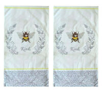 Bee Kind Paper Guest Towels Napkins 20 Ct Set of 2 Spring Country Cottage Cabin