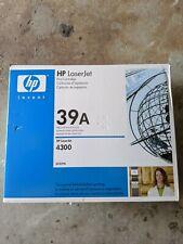 HP 39A Toner Cartridge Black- opened box, sealed cartridge