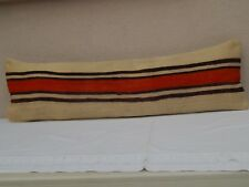 14 X 48 inch Hippie Bedding Kilim Pillow Cover, Handwoven Wool Long Bed Cushion