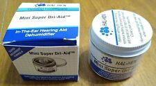 New Hal-Hen Mini Travel Super Dri-Aid Hearing Aid Maintenance Dehumidifier